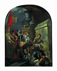 la mise au tombeau de saint poncien by jean-baptiste corneille