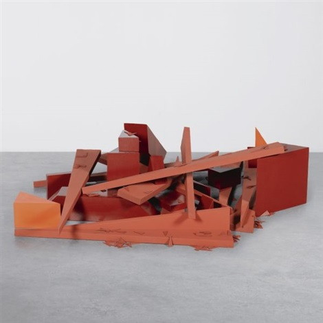 raum (room) (in 136 parts) by imi knoebel