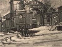 la basilique, notre-dame de québec by littorio del signore