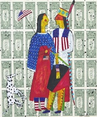 mom and dad going out for the evening by stan natchez
