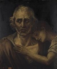 el hambre de madrid (boceto) by josé (inglada) aparicio