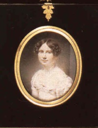 mrs john campbell, nee jane hamilton (1800-1832) by william jnr. patten