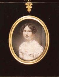 mrs john campbell, nee jane hamilton (1800-1832) by william jnr. patten