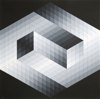 gestalt 8 by victor vasarely
