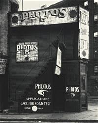 license photo studio, new york by walker evans