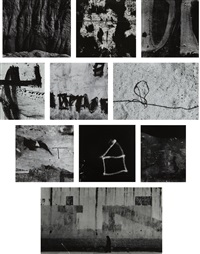 selected images (10 works) by aaron siskind