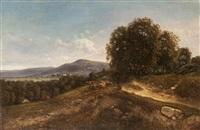 paysage du dauphiné by jean-alexis achard
