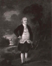 portrait of colonel john anstruther (1736-1815) by edward alcock