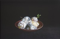 still life with turnips by jeanne dunning