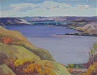 prairie lake by mildred valley thornton