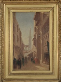 rue du caire by charles théodore (frère bey) frère