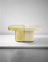yang yin' adjustable table by gabriella crespi