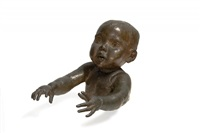 baby with outstretched arms by sir jacob epstein