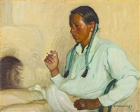 smoking by ernest martin hennings