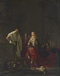 the idolatory of solomon by willem de poorter