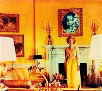 first lady - pat nixon (from the series bringing the war home: house beautiful) by martha rosler