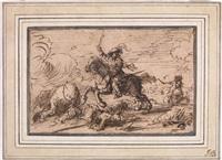 scena di battaglia by guillaume courtois