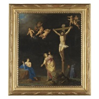 the crucifixion by toussaint gelton