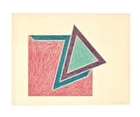 eccentric polygons (set of 11) by frank stella
