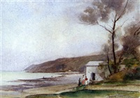 saint-jean-le-thomas, la plage by jacques roger simon