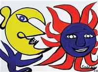sun and moon by alexander calder