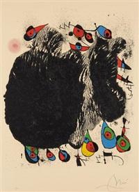 la cascade aux oiseaux by joan miró