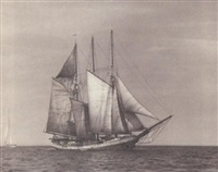 the three masted schooner
