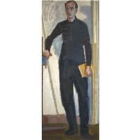 portrait of a man by panayiotis tetsis