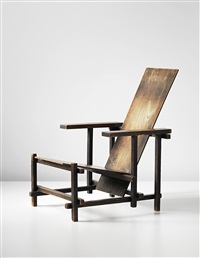 important early armchair by gerrit thomas rietveld