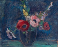 bouquet aux coquelicots by carlos raymond