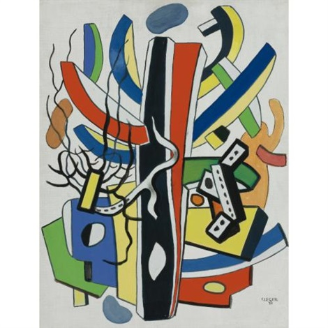 composition polychrome by fernand léger