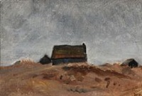 fisher houses in skagen by michael peter ancher