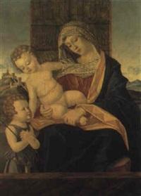 madonna col bambino by francesco rizzo da santacroce