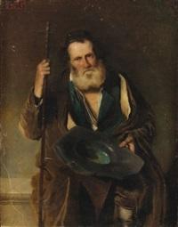portrait d'un juif de jérusalem by edouard moyse