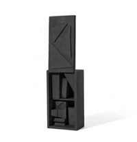 small cryptic iii by louise nevelson
