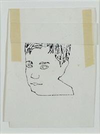 portrait de jeune homme by andy warhol