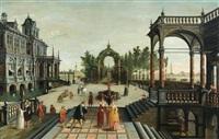 le jugement de pâris by cornelis cornelisz van haarlem