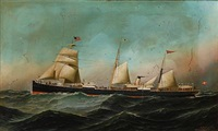 the danish merchant ship geiser by antonio jacobsen