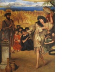a harvest festival by sir lawrence alma-tadema