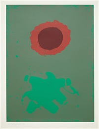 chrome green by adolph gottlieb