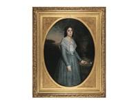 portrait of marie celina brieu by william adolphe bouguereau
