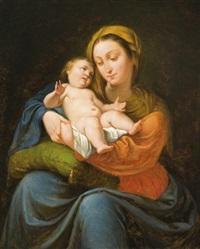 madonna a gyermek jézussal by berta nákó