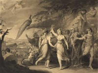a grecian harvest-home (the progress of human culture) (sketch) by james barry