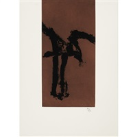 primal sign iv by robert motherwell
