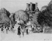 les tuileries by léon haudeville
