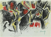 untitled (schary's orchard) by arshile gorky
