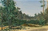 forest edge by nikolai nikanorovich dubovskoy