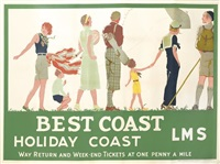 best coast/holiday coast/lms by reginald edward higgins
