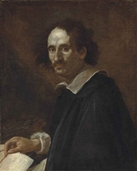 portrait of an architect by gian lorenzo bernini