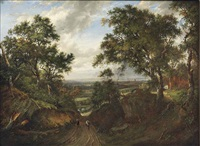 a view near east grinstead by patrick nasmyth